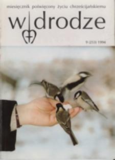 W drodze - R. 22 (1994) nr 9