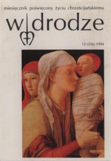 W drodze - R.22 (1994) nr 12