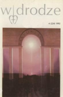 W drodze - R. 20 (1992) nr 4