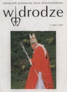 W drodze - R.25 (1997) nr 7