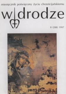 W drodze - R.25 (1997) nr 8