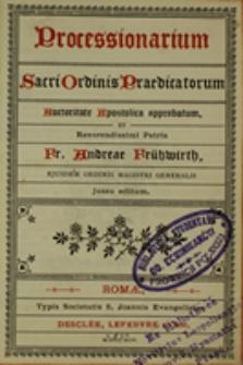 Processionarium Sacri Ordinis Praedicatorum