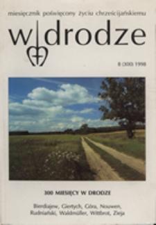 W drodze - R.26 (1998) nr 8