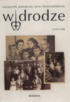 W drodze - R.26 (1998) nr 9