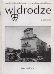 W drodze - R.24 (1996) nr 2