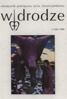 W drodze - R.26 (1998) nr 3