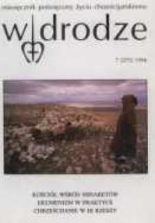 W drodze - R.24 (1996) nr 7