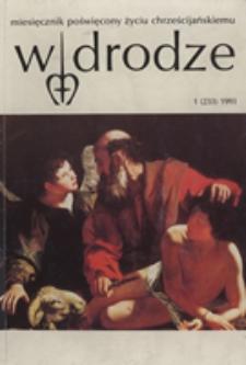 W drodze - R. 21 (1993) nr 1
