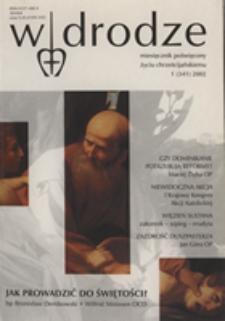 W drodze - R. 30 (2002) nr 1