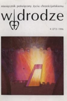 W drodze - R.24 (1996) nr 4