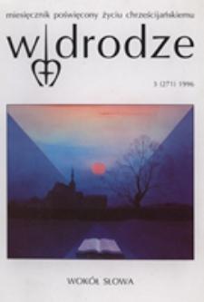 W drodze - R.23 (1996) nr 3