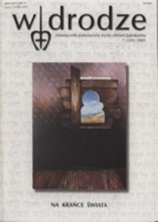 W drodze - R.29 (2001) nr 7
