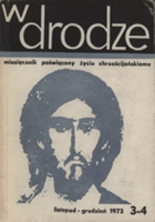 W drodze - R.1 (1973) nr 3-4
