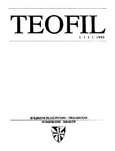 Teofil - nr 1 (1992) - wersja PDF