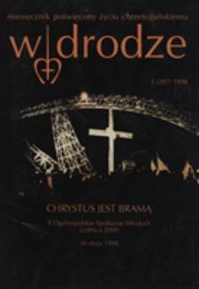 W drodze - R.26 (1998) nr 5
