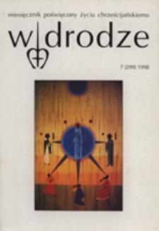 W drodze - R.26 (1998) nr 7