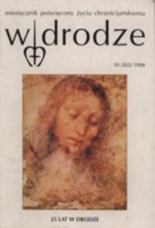 W drodze - R.26 (1998) nr 10
