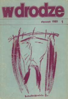 W drodze - R.9 (1981) nr 1