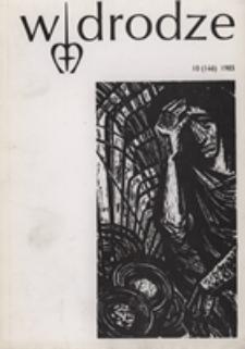 W drodze - R. 13 (1985) nr 10