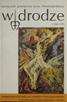 W drodze - R. 23 (1995) nr 4