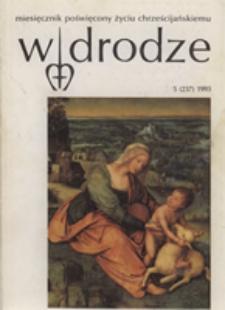 W drodze - R. 21 (1993) nr 5