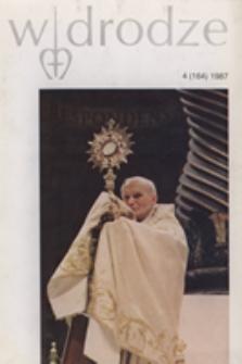 W drodze - R.15 (1987) nr 4