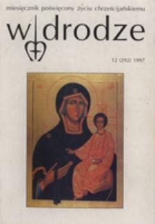 W drodze - R.25 (1997) nr 12